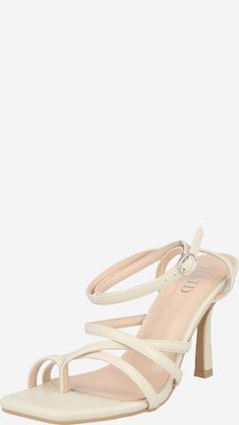 Raid Strap sandal 'SONIA' in White
