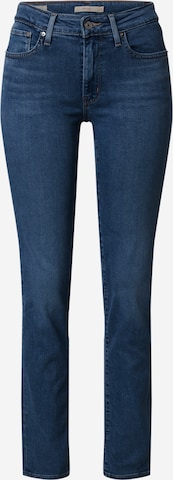 LEVI'S Jeans '724™ HIGH RISE STRAIGHT' in Blauw