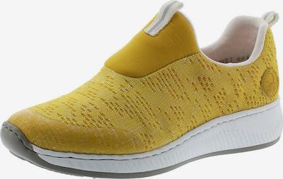RIEKER Sneaker in gelbmeliert, Produktansicht