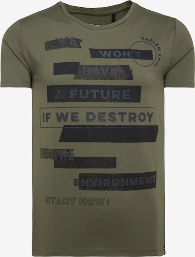 Harlem Soul DO-VER T-Shirt mit Print Artwork in grün, Produktansicht