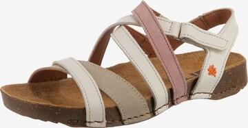 ART Strap Sandals in Beige
