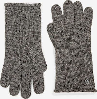 ESPRIT Fingerhandschuhe in anthrazit, Produktansicht