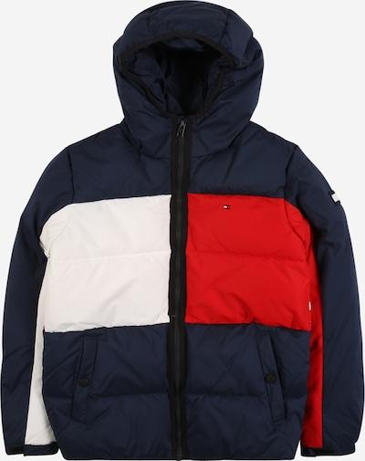 TOMMY HILFIGER Kurtka zimowa w kolorze niebieska noc / czerwony / białym, Podgląd produktu