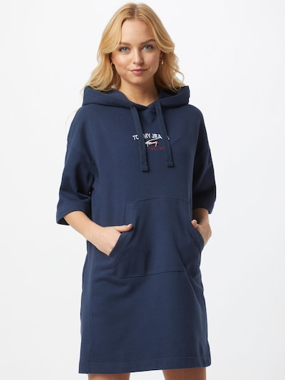 Tommy Jeans Šaty - námořnická modř / červená / bílá, Model/ka