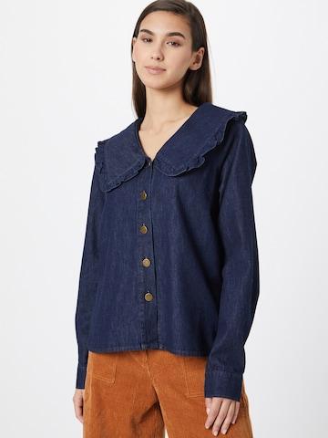 PULZ Jeans Pluus 'HEATHER', värv sinine