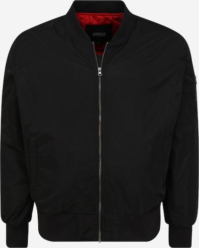 Urban Classics Big & Tall Tussenjas in de kleur Zwart, Productweergave
