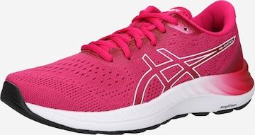 Chaussure de course ASICS en rose