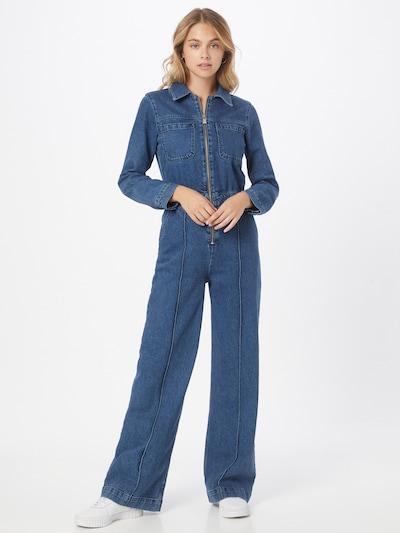 Blanche Overall 'New Audra' in blau, Modelansicht
