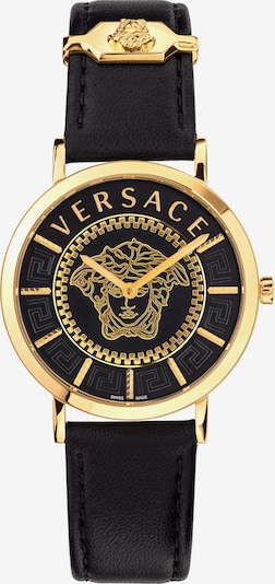VERSACE Versace Schweizer Uhr in gold / schwarz, Produktansicht