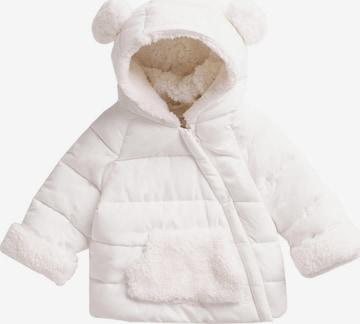 MANGO KIDS Jacke  'TEDDY' in Weiß