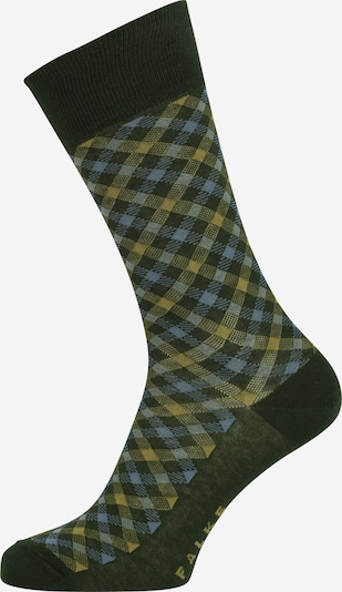 FALKE Socks in Blue / Yellow / Green, Item view