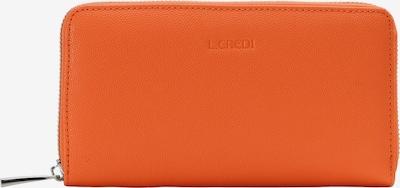 L.CREDI Brieftasche 'GRAZIA' in orange, Produktansicht