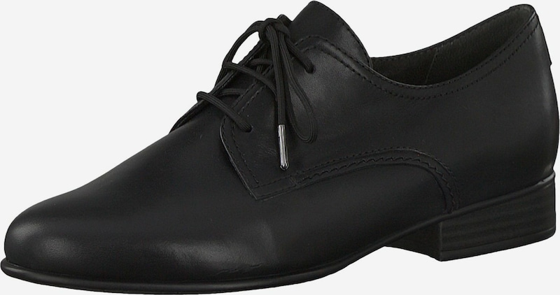 TAMARIS Buty sznurowane w kolorze czarnym fuYLIkl9