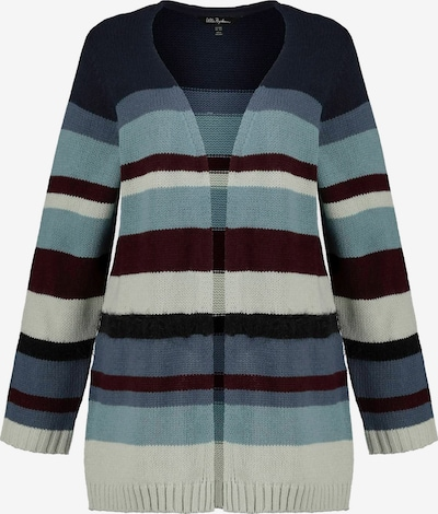 Ulla Popken Gebreid vest in de kleur Gemengde kleuren, Productweergave
