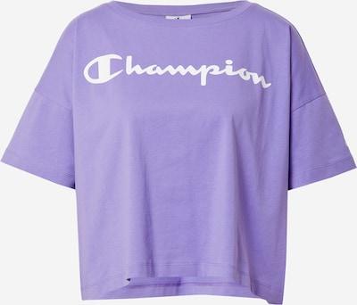 Champion Authentic Athletic Apparel T-Shirt in helllila / weiß, Produktansicht
