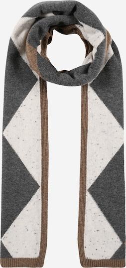 InWear Schal 'Elisia' in hellbeige / braun / graumeliert, Produktansicht