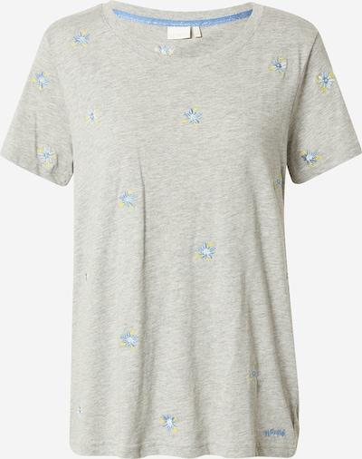 Tricou 'CYLIA' NÜMPH pe albastru deschis / galben / gri deschis, Vizualizare produs