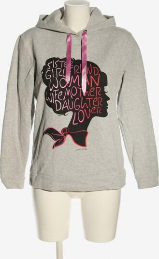 COMMA Kapuzensweatshirt in S in hellgrau, Produktansicht
