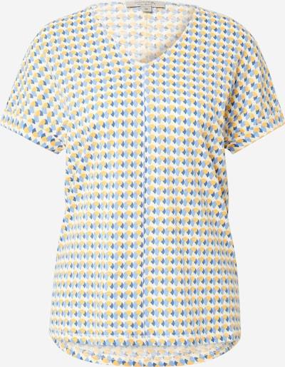 Tricou 'Allover-Print' Ci comma casual identity pe albastru / galben / alb, Vizualizare produs
