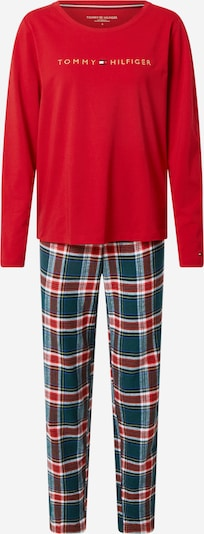 Tommy Hilfiger Underwear Piżama w kolorze zielony / czerwony / białym, Podgląd produktu