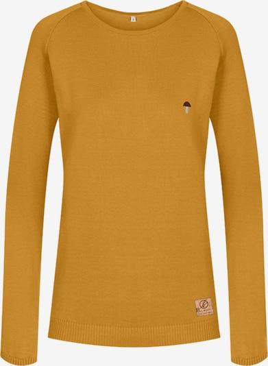 bleed clothing Pullover ' Fine Eco Jumper ' in gelb, Produktansicht