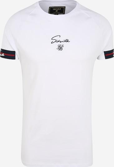 SikSilk Koszulka w kolorze czerwony / czarny / białym, Podgląd produktu