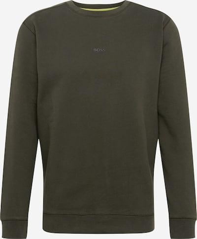 BOSS Sweatshirt 'Weevo' in dunkelgrün, Produktansicht
