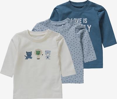 NAME IT Shirt 'Temen' in de kleur Navy / Lichtblauw / Lichtgroen / Poederroze / Offwhite, Productweergave