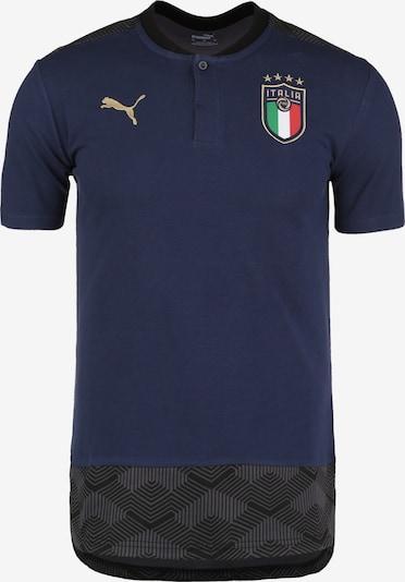 PUMA Poloshirt in blau, Produktansicht