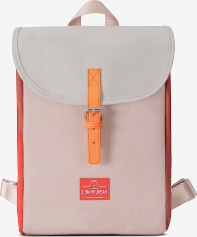 Johnny Urban Rucksack 'Romy' in orange / rosa / rot / weiß, Produktansicht