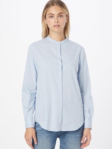 BOSS Casual Bluse 'Befelize' in Blau