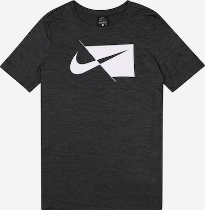 NIKE T-Shirt in schwarz / weiß, Produktansicht