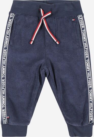Kelnės iš TOMMY HILFIGER, spalva – tamsiai mėlyna / balta, Prekių apžvalga