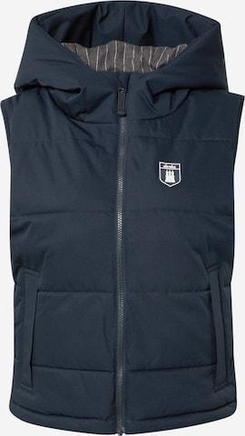 Derbe Vest 'Big Hood' in Blue