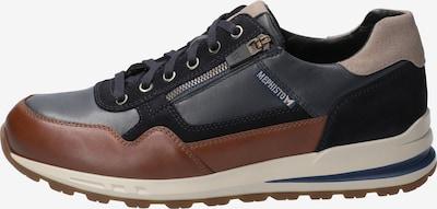 MEPHISTO Sneaker 'Bradley' in navy / taubenblau / braun / eierschale, Produktansicht
