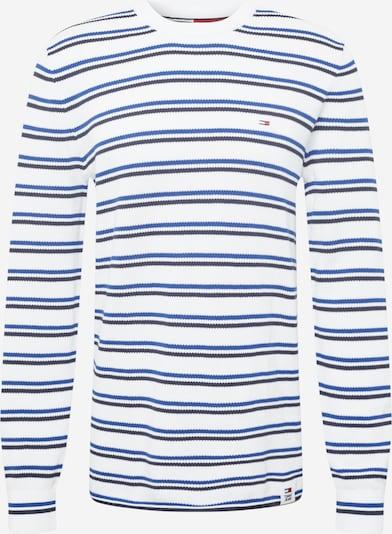 Tommy Jeans Pull-over en bleu / noir / blanc, Vue avec produit