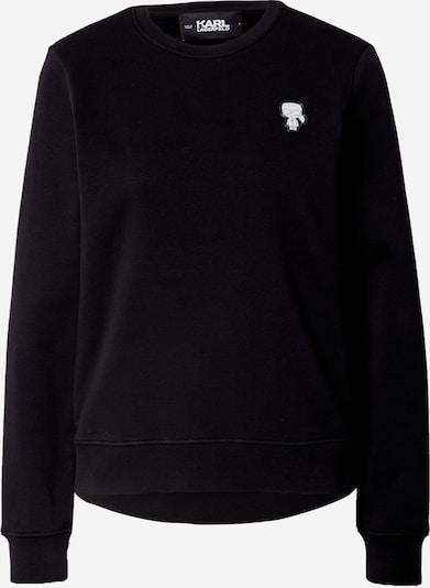 Karl Lagerfeld Sweatshirt in schwarz, Produktansicht