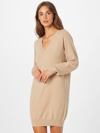 Noisy may Kleid in beige, Modelansicht