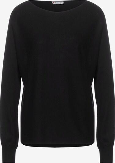 STREET ONE Pullover in schwarz, Produktansicht