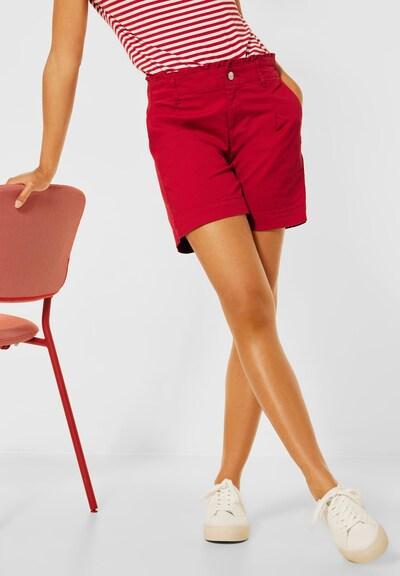 STREET ONE Kalhoty - červená, Model/ka