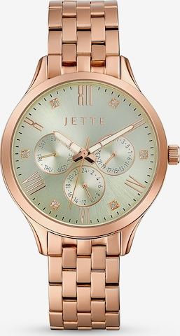 JETTE Analoguhr in Pink