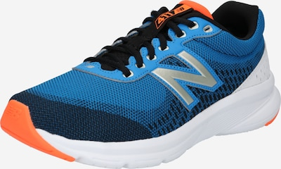 new balance Chaussure de course '411' en bleu / bleu marine / orange / blanc, Vue avec produit