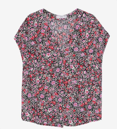 MANGO Bluse 'GONDOLE' i creme / gressgrønn / rosa / rød / svart, Produktvisning