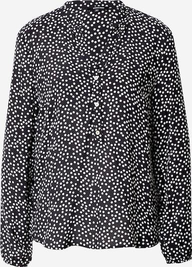 MORE & MORE Bluse in schwarz / weiß: Frontalansicht