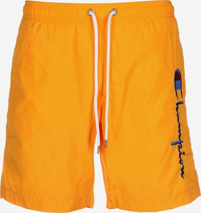 Champion Authentic Athletic Apparel Badeshorts in dunkelgelb / orange, Produktansicht