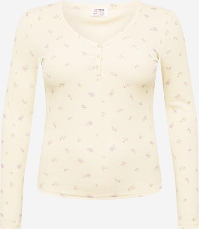 Cotton On Curve Shirt 'LINCOLN' in champagner / hellgrün / flieder / helllila, Produktansicht