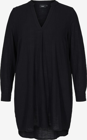 Zizzi Tunika 'Ehera' in schwarz, Produktansicht