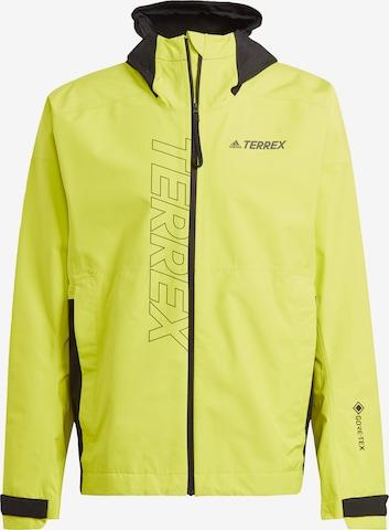 adidas Terrex Regenjacke 'TERREX GORE-TEX Paclite' in Gelb