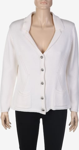Hauber Sweater & Cardigan in XL in White