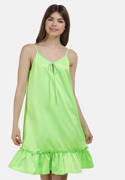 MYMO Sommerkleid in neongrün, Modelansicht